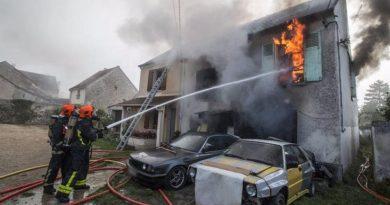 Incendie à la Cité Millionnaire de Grand Yoff: Une maison en partie réduite en flammes