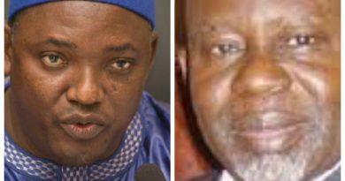 Gambie :Le président Barrow limoge son Premier ministre Ousseynou Daboe
