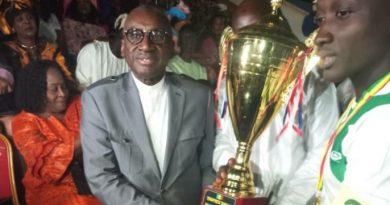 Finale Zone 2A de l'Odcav de Tamba : L'Asc Gounass vainqueur empoche les 600.000f du parrain Sidiki Kaba