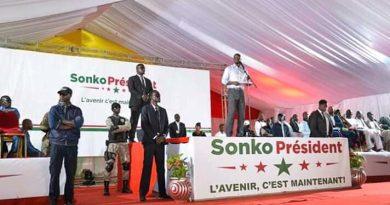 Accueilli en fanfare à Kaffrine: Sonko s'en prend à Macky Sall, appelle aux forces de l'ordre et de défense et à la justice