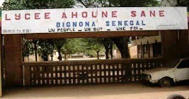 Lycée Ahoune Sané de Bignona: Grève totale ce jeudi des enseignants