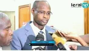 Hommage à un grand serviteur de l'Etat : il s'agit de monsieurCheikhou Cissé Secrétaire général du ministère de l'Intérieur
