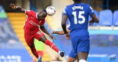 2 ème journée de la Premier League: Sadio Mané offre la victoire aux Reds grâce à son doublé