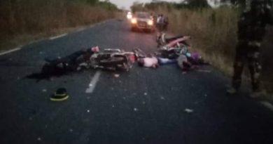 Accident à Bignona: Une collision de deux motos Jakartas fait quatre morts et un blessé grave à Karongue