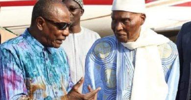 Wade à Alpha Condé: «Je mets à votre disposition la maison que j'occupe actuellement à Dakar»
